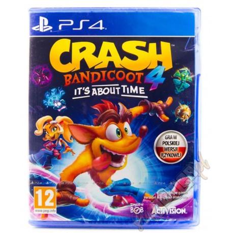 Crash Bandicoot 4 Najwyższy czas PL (nowa)