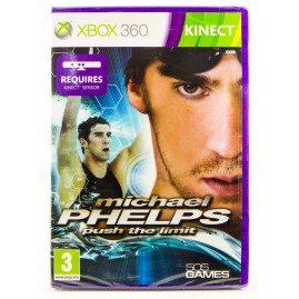 Michael Phelps Push the Limit Kinect (nowa)