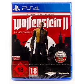 Wolfenstein II The New Colossus PL (nowa)
