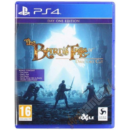 The Bard's Tale IV Director's Cut Day One Edition PL (nowa)