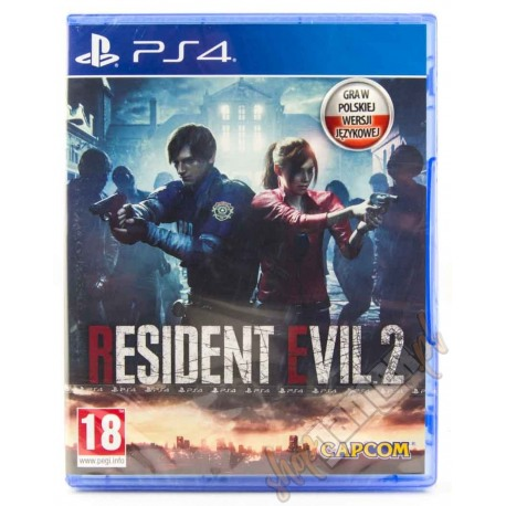 Resident Evil 2 Remake PL (nowa)