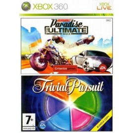 BURNOUT PARADISE ULTIMATE BOX + TRIVIAL PURSUIT (używana)