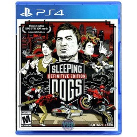 SLEEPING DOGS - DEFINITIVE EDITION PL (używana)
