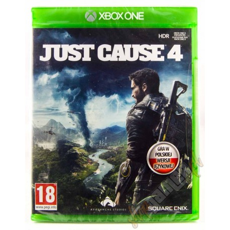 PS4 Just Cause 4 PL