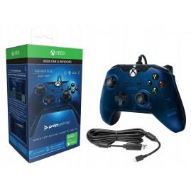 PDP Xbox One Pad przewodowy BLUE (nowy)