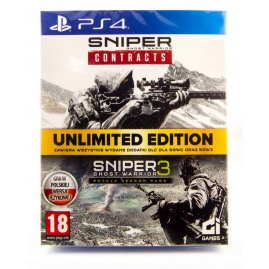 Sniper Ghost Warrior 3 & Contracts PL UNLIMITED EDITION (nowa)
