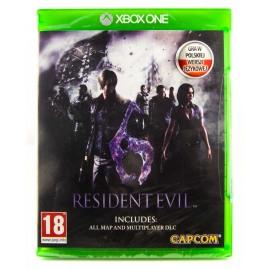 Resident Evil 6 PL (nowa)