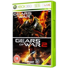 GEARS OF WAR + GEARS OF WAR 2 (używana)