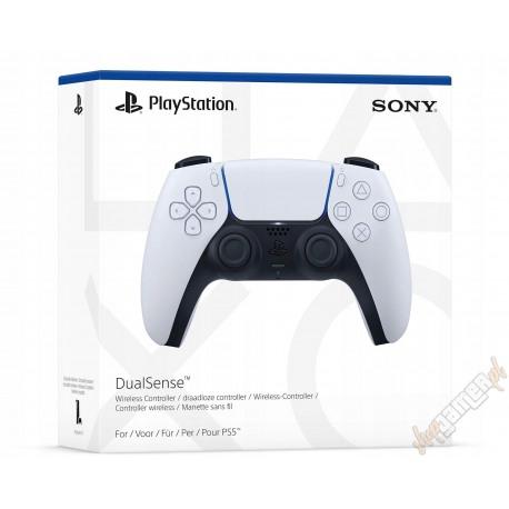 Pad Kontroler bezprzewodowy DualSense PS5 Biały (nowy)