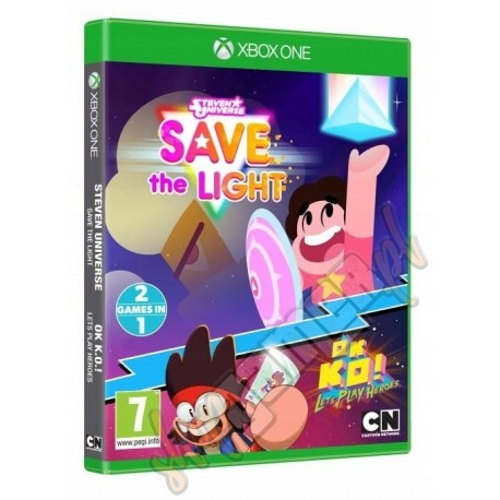 Steven Universe Save the Light & OK K.O.! Let's play heroes (używana)