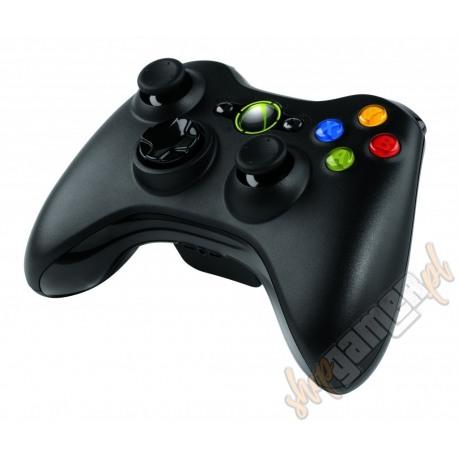 Gamepad Microsoft Xbox 360 Black Bezprzewodowy (używany)