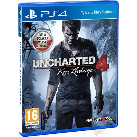 Uncharted 4: Kres Złodzieja (używana)